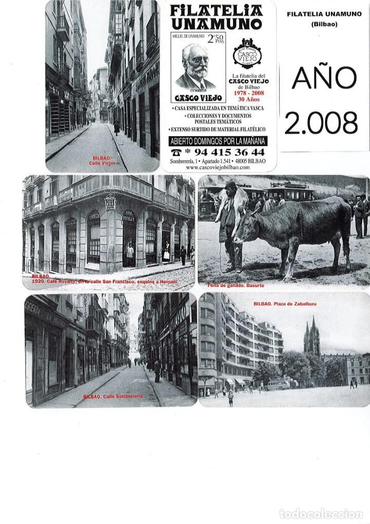 Coleccionismo Calendarios: LOTE DE 78 CALENDARIOS DE BOLSILLO DE LA FILATELIA UNAMUNO desde Año 2000 al 2012 Años Completos - Foto 9 - 166234258