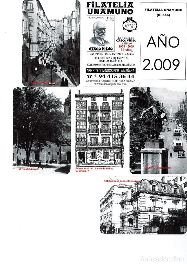 Coleccionismo Calendarios: LOTE DE 78 CALENDARIOS DE BOLSILLO DE LA FILATELIA UNAMUNO desde Año 2000 al 2012 Años Completos - Foto 10 - 166234258
