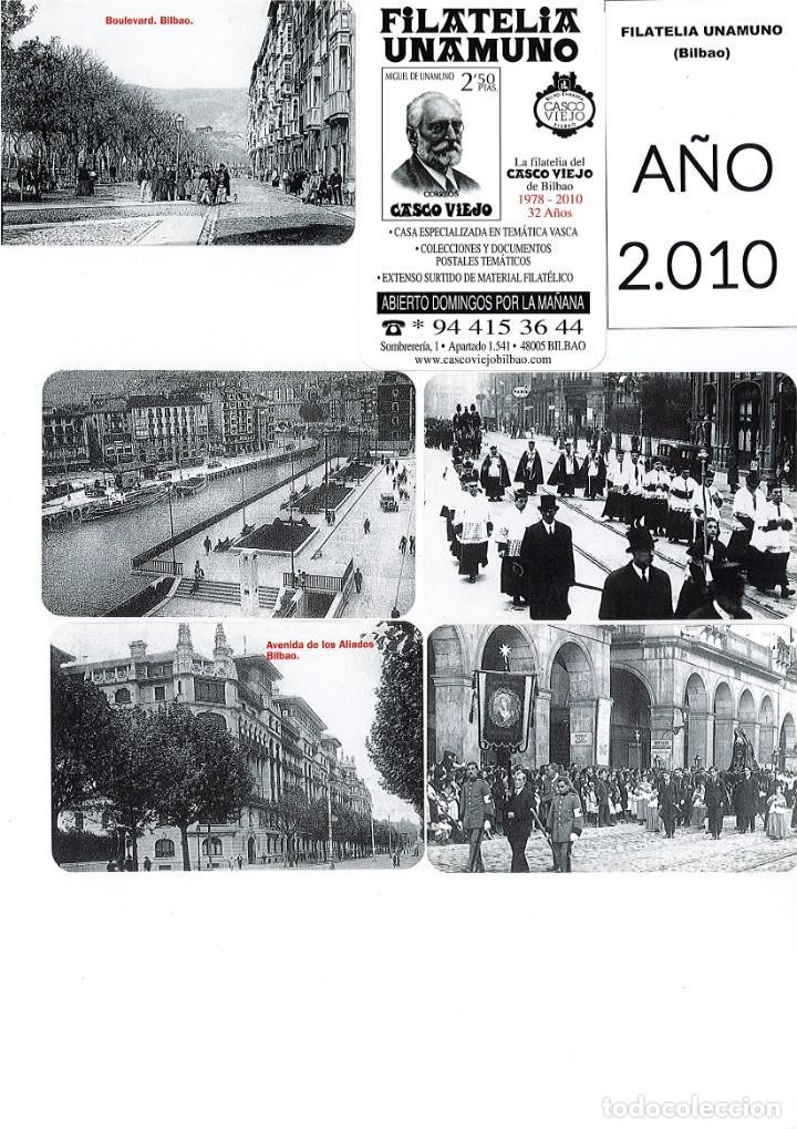 Coleccionismo Calendarios: LOTE DE 78 CALENDARIOS DE BOLSILLO DE LA FILATELIA UNAMUNO desde Año 2000 al 2012 Años Completos - Foto 11 - 166234258