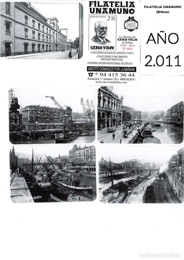 Coleccionismo Calendarios: LOTE DE 78 CALENDARIOS DE BOLSILLO DE LA FILATELIA UNAMUNO desde Año 2000 al 2012 Años Completos - Foto 12 - 166234258