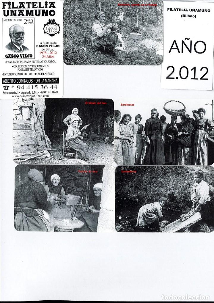 Coleccionismo Calendarios: LOTE DE 78 CALENDARIOS DE BOLSILLO DE LA FILATELIA UNAMUNO desde Año 2000 al 2012 Años Completos - Foto 13 - 166234258