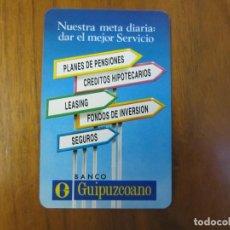 Coleccionismo Calendarios: CALENDARIO FOURNIER-BANCO GUIPUZCOANO-DEL 1992 VER FOTOS. Lote 166391685