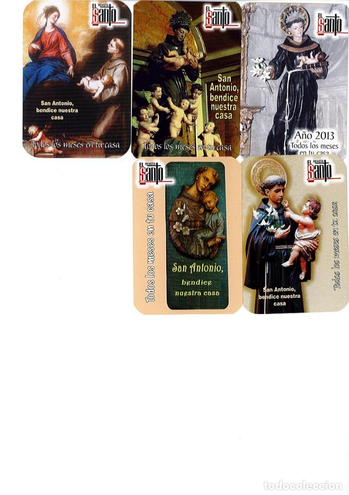 Coleccionismo Calendarios: Coleccion de 14 calendario de la Revista EL SANTO desde el 2004 al 2017 ambos inclusive - Foto 2 - 166479222