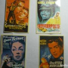 Coleccionismo Calendarios: LOTE CALENDARIOS CARTELES CINE 2007-2008. Lote 166975672