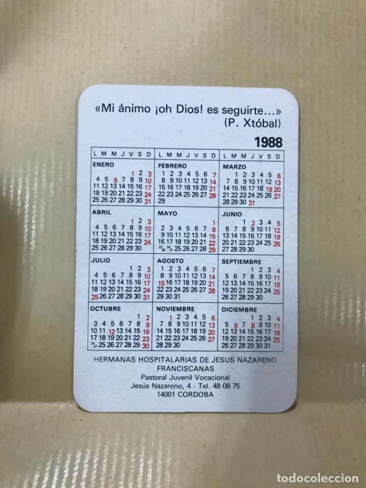 Coleccionismo Calendarios: CALENDARIO PARA 1988V. P. CRISTOBAL DE STA CATALINA - CÓRDOBA - Foto 2 - 167060916
