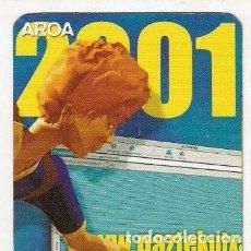 Coleccionismo Calendarios: -56597 CALENDARIO CAIXA KUTXA GIPUZKOA, AÑO 2001, INTERNET, DOS IDIOMAS. Lote 167127112