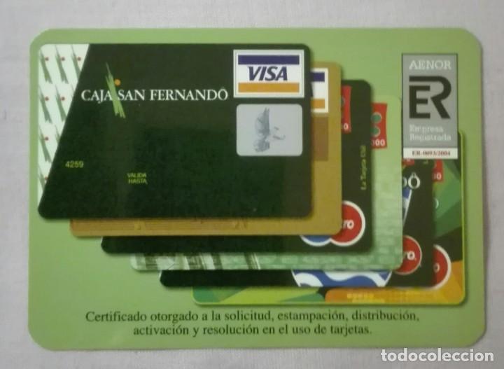 -76852 CALENDARIO CAJA SAN FERNANDO, AÑO 2005, LA CAJA, VISA (Coleccionismo - Calendarios)