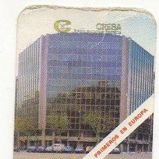 Coleccionismo Calendarios: CALENDARIO SEGUROS CRESA 1987. Lote 167475372