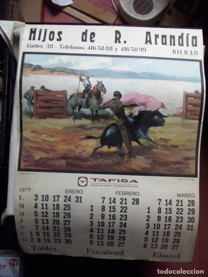 Calendario Del 1977.Calendario Del Ano 1977 Hijos De R Arandia 38 X 52