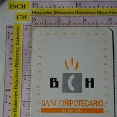 Coleccionismo Calendarios: CALENDARIO DE BOLSILLO FOURNIER. AÑO 1990. BANCO HIPOTECARIO DE ESPAÑA BCH. Lote 167552512