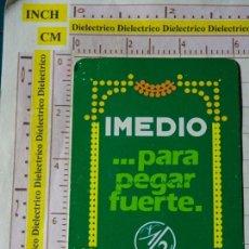Coleccionismo Calendarios: CALENDARIO DE BOLSILLO FOURNIER. AÑO 1988 PEGAMENTO IMEDIO. Lote 167552544