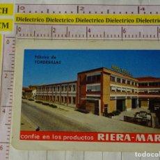 Coleccionismo Calendarios: CALENDARIO DE BOLSILLO FOURNIER. AÑO 1969 PRODUCTOS RIERA MARSA, FÁBRICA DE TORDESILLAS. Lote 167552824