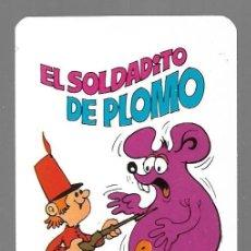 Coleccionismo Calendarios: NAIPES COMAS CALENDARIO BOLSILLO DEL AÑO 1974. EL SOLDADITO DE PLOMO.. Lote 167837936
