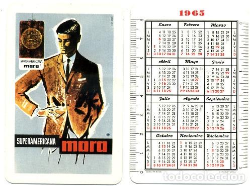 CALENDARIO FOURNIER, SUPERAMERICANA MORA , 1965 , ORIGINAL , CAD 253 (Coleccionismo - Calendarios)