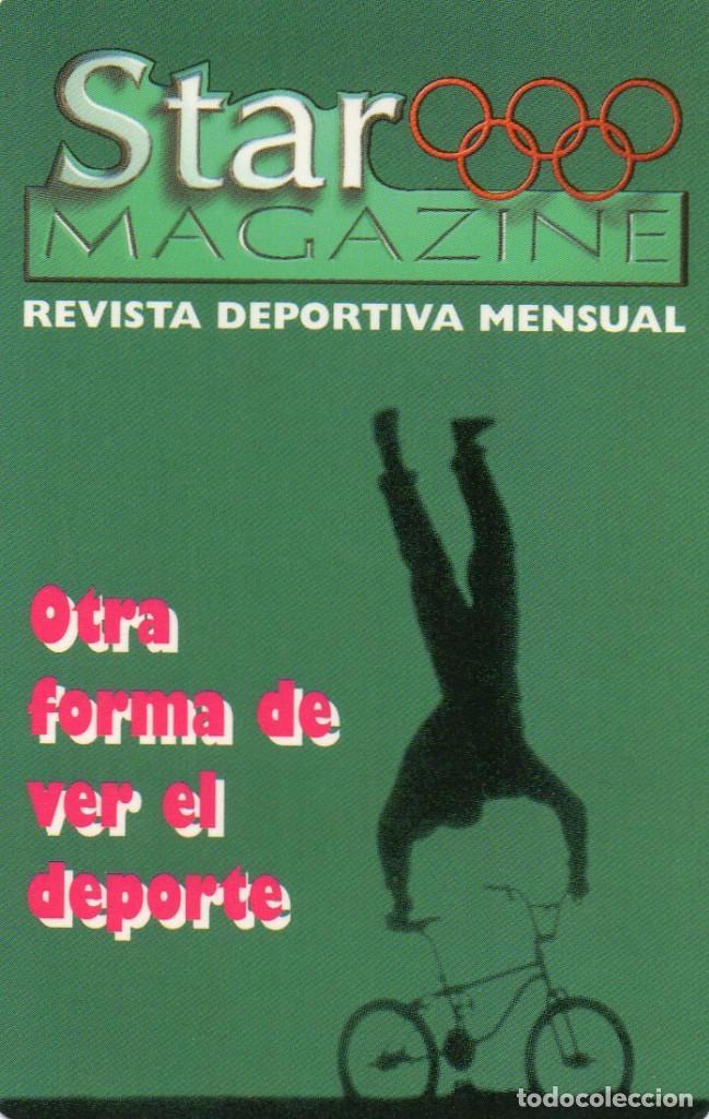 CALENDARIO DE PUBLICIDAD 1998 STAR MAGAZINE (Coleccionismo - Calendarios)