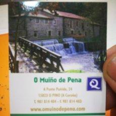 Coleccionismo Calendarios: CALENDARIO O MUIÑO DE PENA AGATUR 2010. Lote 168217536