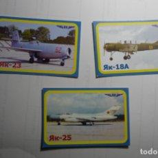 Coleccionismo Calendarios: LOTE CALENDARIOS EXTRANJEROS AVIONES 2010. Lote 168251240