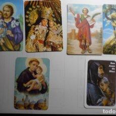 Coleccionismo Calendarios: LOTE CALENDARIOS RELIGIOSOS DIF.AÑOS. Lote 168253128