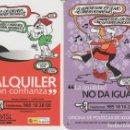 Coleccionismo Calendarios: LOTE 2 CALENDARIOS 2007 GIJON. Lote 168274254