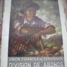 Coleccionismo Calendarios: CALENDARIO UNION EXPLOSIVOS 1964. Lote 168286056