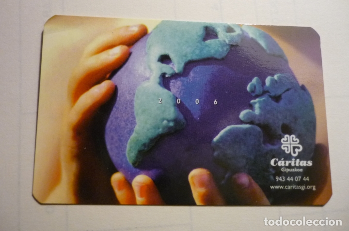 CALENDARIO CARITAS.-2006 VASCO (Coleccionismo - Calendarios)