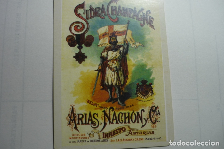 CALENDARIO 2006 ETIQUETA SIDRA CHAMPAGNE ARIAS MACHON -ASTURIAS (Coleccionismo - Calendarios)