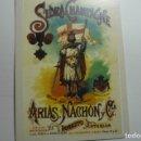 Coleccionismo Calendarios: CALENDARIO 2006 ETIQUETA SIDRA CHAMPAGNE ARIAS MACHON -ASTURIAS. Lote 168306856