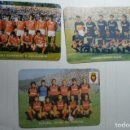 Coleccionismo Calendarios: LOTE FUTBOL --EXTRANJEROS 1985- EQUIPOS PORTUGUESES VARZIM-PENAFIEL-COMERCO SALGUEIROS. Lote 168307032