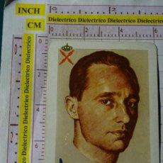 Coleccionismo Calendarios: CALENDARIO DE BOLSILLO FOURNIER. AÑO 1966. CARLISTAS CARLOS POR DIOS LA PATRIA Y EL REY. Lote 168312324