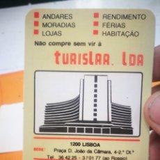 Coleccionismo Calendarios: CALENDARIO TURISLAR LDA 1983. Lote 168333796