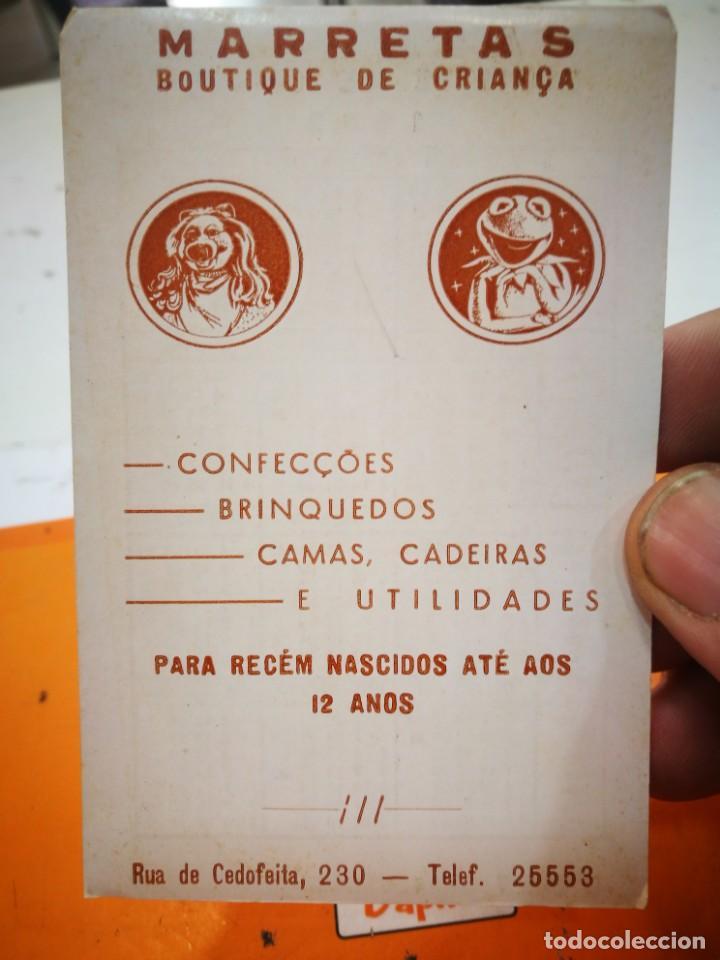CALENDARIO MARRETAS BOUTIQUE DE CRIANCA 1983 (Coleccionismo - Calendarios)