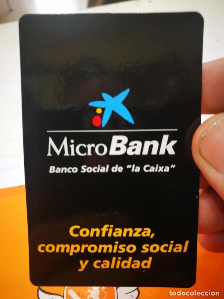 CALENDARIO MICROBANK LA CAIXA 2008 (Coleccionismo - Calendarios)