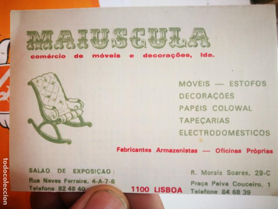 CALENDARIO MAIUSCULA (Coleccionismo - Calendarios)