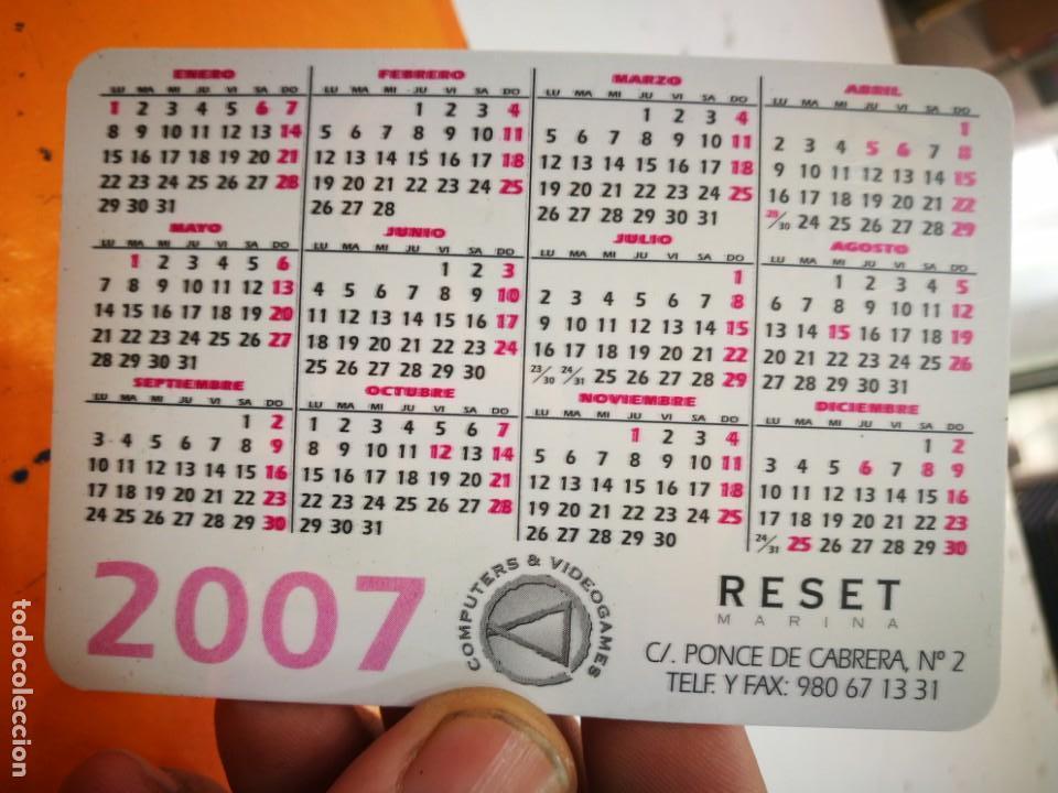 Coleccionismo Calendarios: Calendario RESET COMPUTER AND VIDEOGAMES 2007 - Foto 2 - 168347144
