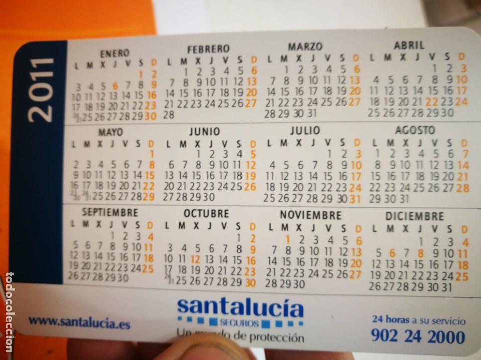 Coleccionismo Calendarios: Calendario SANTALUCIA 2011 - Foto 2 - 168347516