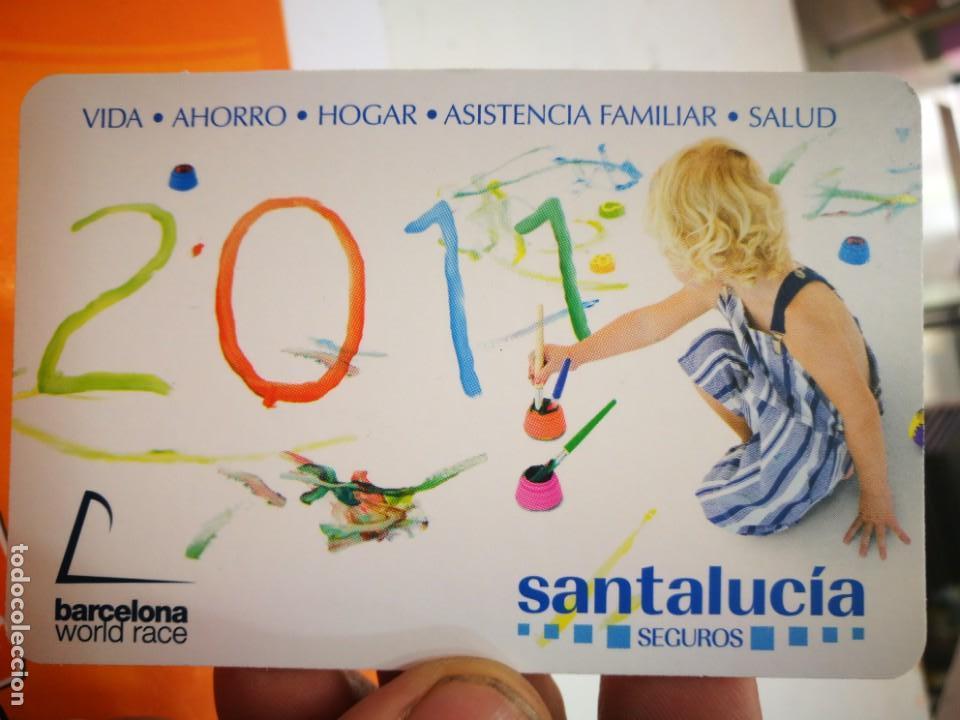CALENDARIO SANTALUCIA 2011 (Coleccionismo - Calendarios)