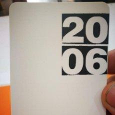 Coleccionismo Calendarios: CALENDARIO UNIVERSIDAD DEL PAIS VASCO 2006. Lote 168349260
