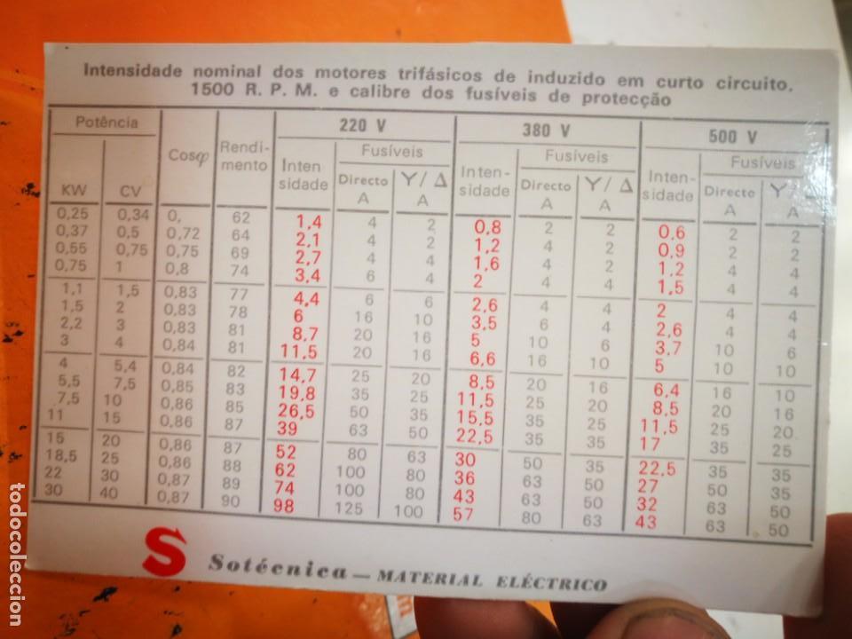 CALENDARIO SOTECNICA SOCIEDADE ELECTRONICA LDA 1983 (Coleccionismo - Calendarios)
