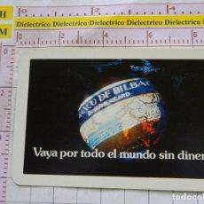 Coleccionismo Calendarios: CALENDARIO DE BOLSILLO FOURNIER. AÑO 1975. BANCO DE BILBAO. Lote 168491012