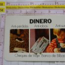 Coleccionismo Calendarios: CALENDARIO DE BOLSILLO FOURNIER. AÑO 1975. BANCO DE BILBAO. Lote 168491360