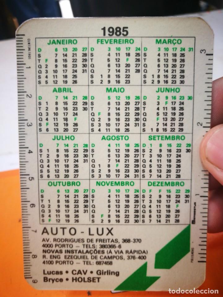Coleccionismo Calendarios: Calendario NIVAS INSTALACOES 1985 - Foto 2 - 168568520