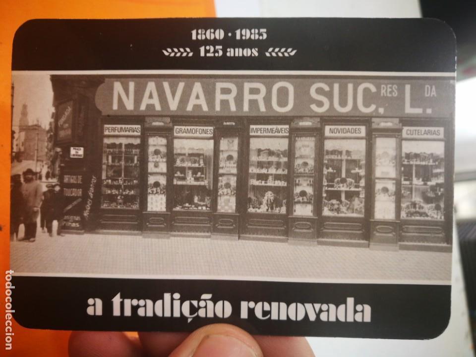 CALENDARIO NAVARRO SUC.LDA. 1985 (Coleccionismo - Calendarios)