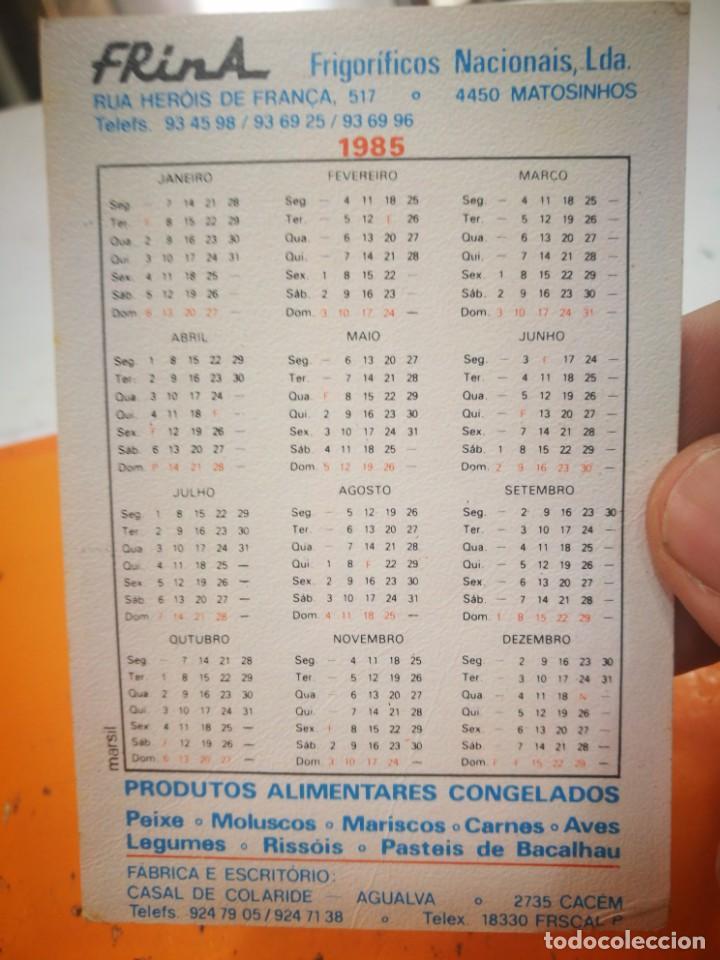 Coleccionismo Calendarios: Calendario FRINA FRIGORÍFICOS NACIONAIS LDA 1985 - Foto 2 - 168573808