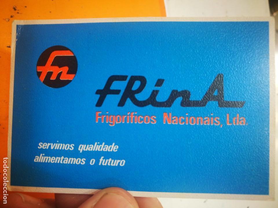CALENDARIO FRINA FRIGORÍFICOS NACIONAIS LDA 1985 (Coleccionismo - Calendarios)