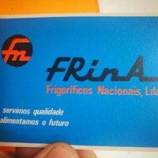 Coleccionismo Calendarios: CALENDARIO FRINA FRIGORÍFICOS NACIONAIS LDA 1985. Lote 168573808