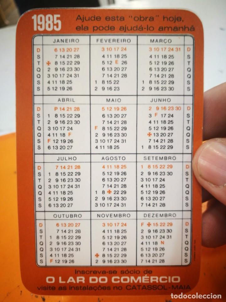 Coleccionismo Calendarios: Calendario O LAR DO COMERCIO 1985 - Foto 2 - 168574252