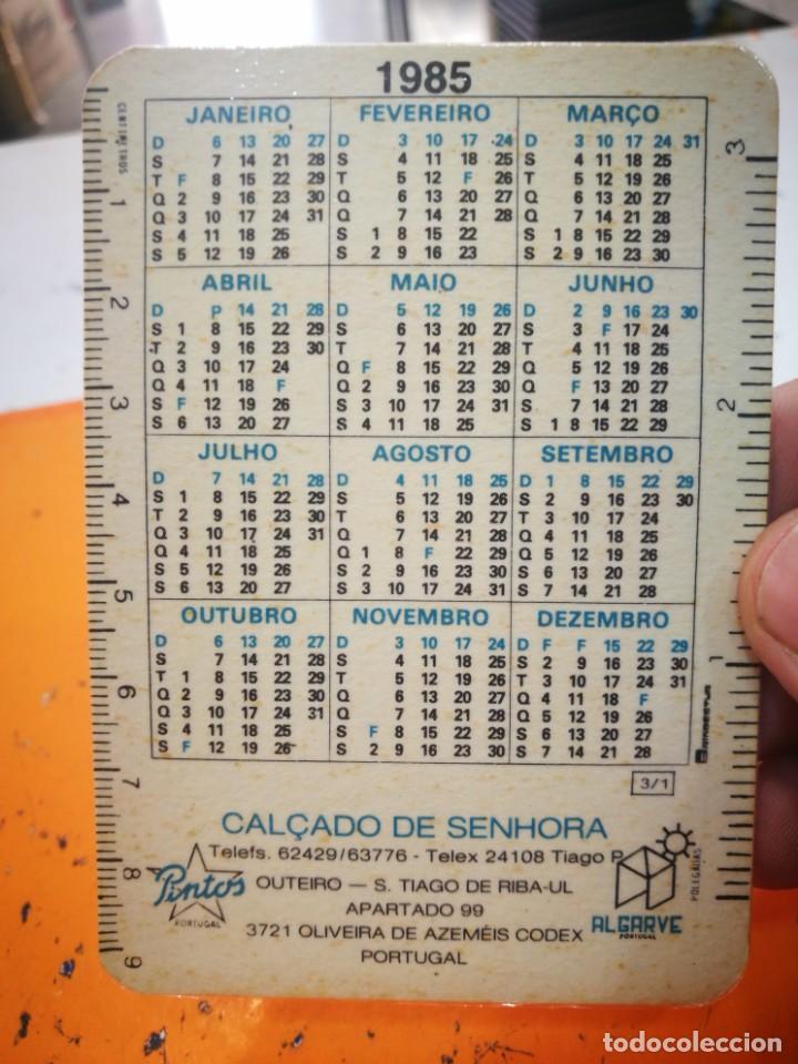 Coleccionismo Calendarios: Calendario OSVALDO PINTO LDA 1985 - Foto 2 - 168575212