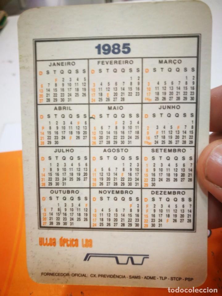 Coleccionismo Calendarios: Calendario ULLOA OPTICO 1985 - Foto 2 - 168678720