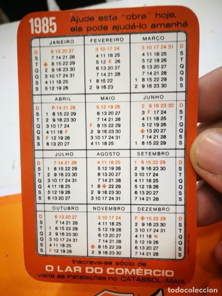 Coleccionismo Calendarios: Calendario O LAR DO COMERCIO 1985 - Foto 2 - 168681872