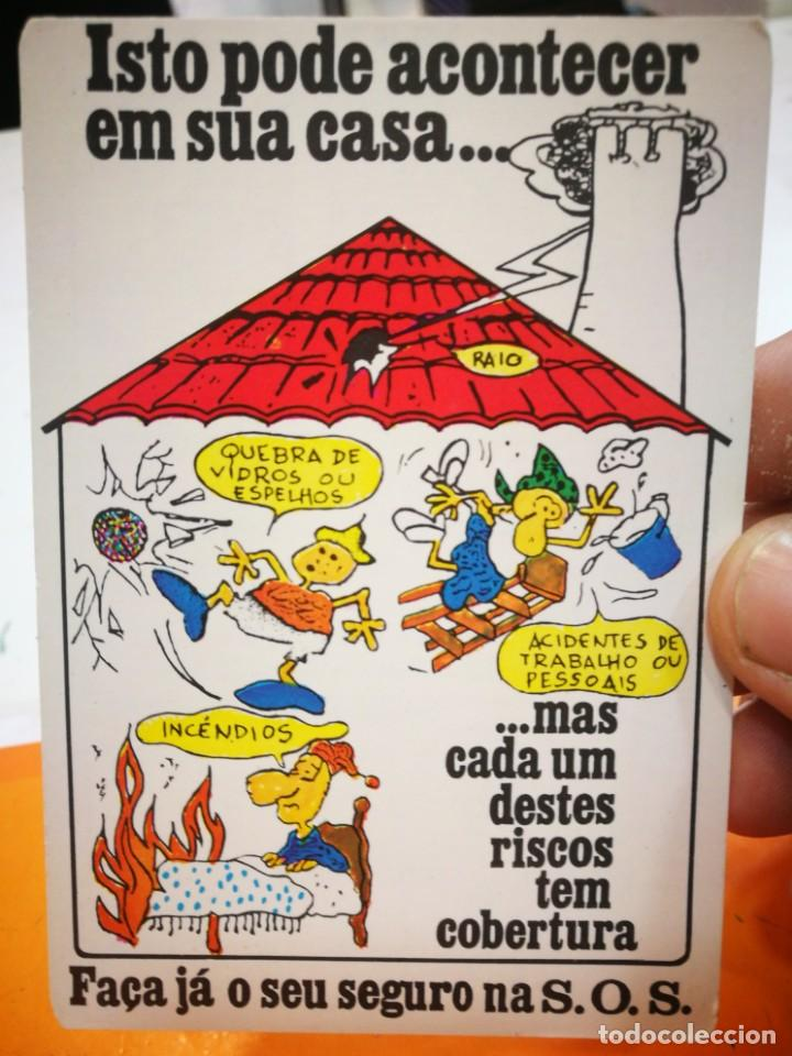 CALENDARIO CORRETORES DE SEGUROS PORTO 1987 (Coleccionismo - Calendarios)